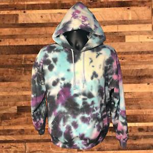One of a Kind Tie Dye Oversized Hoodie Fashion Unisex Colorful Festival Custom
