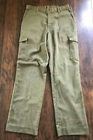 Vintage Boy Scouts of America Cargo Pants Official Uniform 33 x 33 Talon