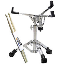 Sonor SS XS 2000 Snare Drum Ständer low extra niedrig+KEEPDRUM Drumsticks 1 Paar