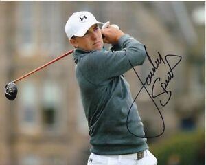 JORDAN SPIETH Signed PGA GOLF Photo w/ Hologram COA