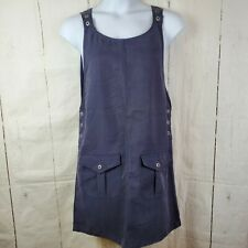 Directives Pullover Dress Overall Jumper Pockets Modest Size L Navy blue Lyocell