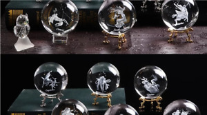 Miniature silver stand for crystal zodiac ball, stand only
