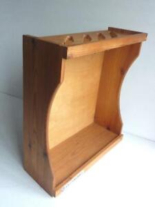 Le Creuset Wooden Saucepan Rack/Pan Stand - holds 4 Pans V.G.C.
