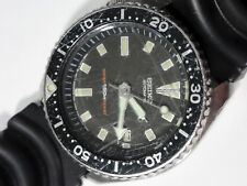 Vtg SEIKO Scuba Diver's automatic watch 7002-7009 all stainless needs repair