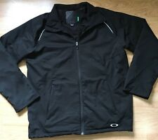 Oakley Jacket Men's Size Medium Black Oakley On Back