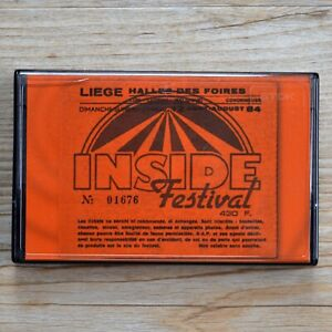 New Order Luik Inside Festival 12th August 1984 Live Cassette Tape