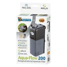 Superfish Aquarium Fish Tank Aqua Flow 200 Biological Internal Filter 100 - 200L