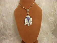 """STAR WARS """"R2D2""""  Metal Charm Ball Chain Necklace Choose ONE/Jewelry/Kids/Men"""