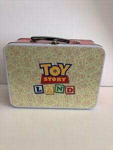 Disney Parks Toy Story Land Metal Lunch Box & Thermos NEW Hollywood Studios