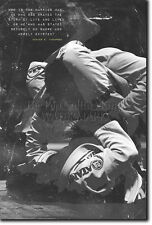 JIU-JITSU MOTIVATIONAL PHOTO PRINT 01 BJJ MOTIVATION QUOTE POSTER MARTIAL ARTS