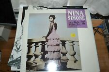 "NINA SIMONE     MY BABY JUST CARES FOR ME   12"" SINGLE   CHARLY RECORDS  CYZ112"