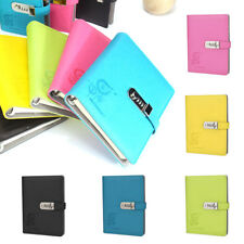 PU Leather A5 Large Diaries Journals Notebook With Code Lock Secret Diary Nice