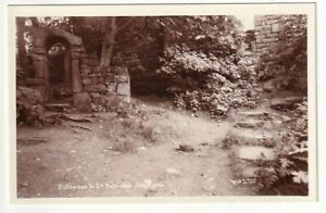 An Early Matthews Real Photo Post Card of Entrance to St. Patrick's, Heysham.