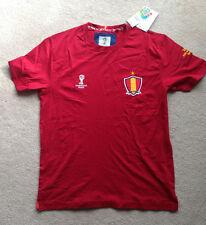 Fifa World Cup Brazil Brasil 2014 Spain España Burgundy Footbal T-Shirt M