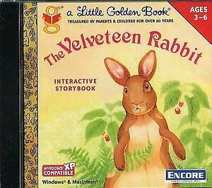 The Velveteen Rabbit  (CD, 2000) for Win/Mac (Ages 3-6) - New & Sealed