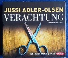 Verachtung / von Jussi Adler-Olsen / Wolfram Koch liest / Hörbuch 6 CD`s