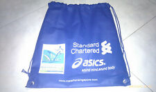 SCMS Standard Chartered Marathon Singapore ASICS 2011 CANVAS Race Pack Back BAG