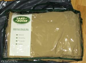 Land Rover OEM LR3/Discovery 3 Front Waterproof Aspen or Sand Seat Covers New