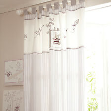 Izziwotnot Time To Play Tab Top Curtains + quilt cover set +lantern toddler room
