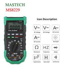 MS8229 Digital Multimeter Tester 5 in 1 Noise Illumination Temperature Humidity