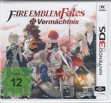 Fire Emblem Fates: Héritage Pour Nintendo 3 DS-NEUF & neuf dans sa boîte-Version Allemande
