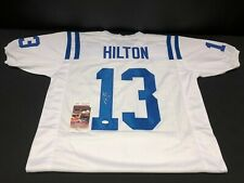 TY HILTON INDIANAPOLIS COLTS SIGNED CUSTOM JERSEY JSA WITNESSED COA WPP188271