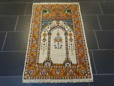 Orientteppich Handgeknüpfter Buchara Jomut Gebetsteppich 130 cm x 77 cm Carpet