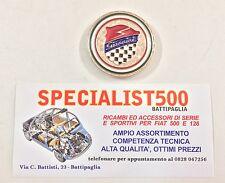 FIAT   500 -126  STEMMA COFANO MOTORE GIANNINI IN OTTONE CROMATO
