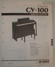 Yamaha Clavinova CV-100 Piano Organ Technical Service Repair Manual Schematics
