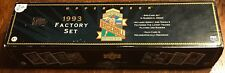 1993 Upper Deck BB Factory Set NM-MT Condition 839 Card Set No Jeter RC