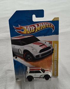 2011 Hot Wheels HW Premiere #30 Mini Cooper S Challenge White New