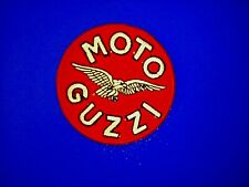 MOTO GUZZI ROUND  7CM DIAMETER SEW OR IRON ON  PATCH