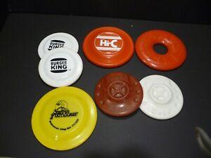 Lot 8 VINTAGE Frisbee HI-C~LIFESAVERS~KEDS~BURGER KING~ADVERTISING