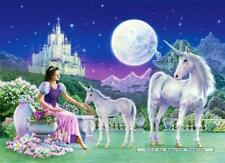 120 pcs jigsaw puzzle: Unicorn Princess (Fantasy, Horses) (Castorland 12657)