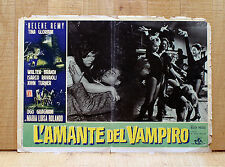 L'AMANTE DEL VAMPIRO fotobusta poster Polselli Hélène Remy Horror Vampire S9