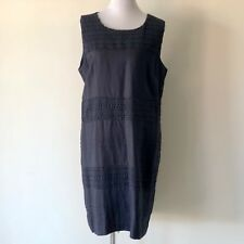 W Lane Lace Panel Dress Ink Size 18 Brand New with Tags