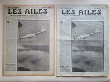 AILES 1936 808 FAIREY BATTLE FOKKER G-1 POU AUSTRALIA MOLLISON NIEUPORT TRAIN