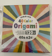 New ListingOrigami Paper 480 Sheets40 Colors In 4 Packs Of 120 Sheets Each 5.9� (150mm)