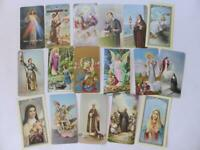 Fratelli Bonella Prayer Cards, Lot Of 17 Vintage Catholic Cards, Italy, 1960's