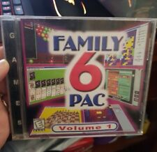 Family 6 Pac -   PC GAME - FREE POST *
