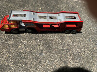 MINT MATCHBOX LESNEY ENGLAND 1976 K-10 CAR TRANSPORTER TRUCK RED RARE KINGS