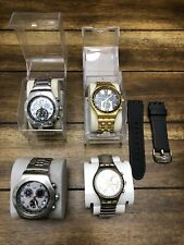 Swatch Watch Men's Lot Swatch Irony 43mm 38mm & 33mm VHTF Lot Of 4.