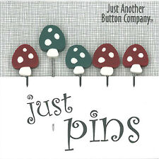 10% Off Just Another Button Company - Woodsy Pins - jp166