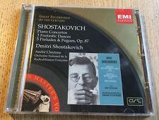 EMI Classics ART CD Abbey Road SHOSTAKOVICH Piano Etc. CLUYTENS ONRF Mono ADD