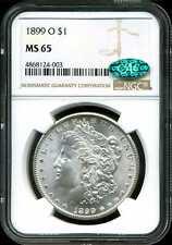 1899-O $1 Morgan Silver Dollar MS65 NGC CAC 4868124-003