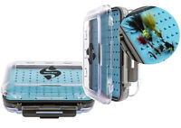 Snowbee 'Easy-Vue' Waterproof Silicone Foam Fly Box - Medium 14731 Easy View