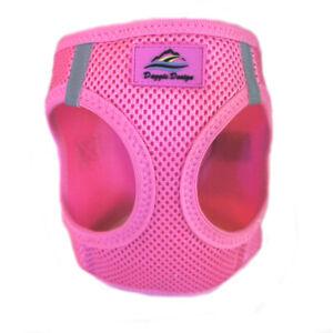 American River Pink Dog Harness Ultra Choke-Free Mesh  -  XXS-3XL