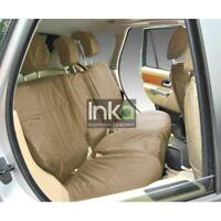Land Rover Discovery Sport L550 Rear Inka Tailored Waterproof Seat Covers Beige