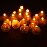 100PCS Mini LED Balloon Lamp Light Christmas Party Birthday Halloween Decoration