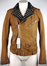 DIESEL JEFEF GIACCA Leather Jacket Jungen Lederjacke Bikerjacke Gr.14 NEU+ETIKET